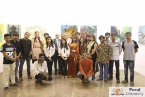 Parul University & Slovak Embassy in India