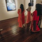 Aurora - The painting within paintings by Fathima Hakkim at Durbar Hall, Kochi
