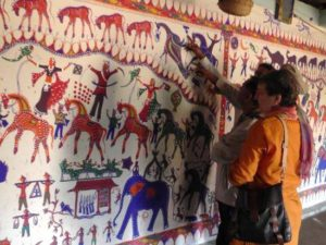 Pithora paintings