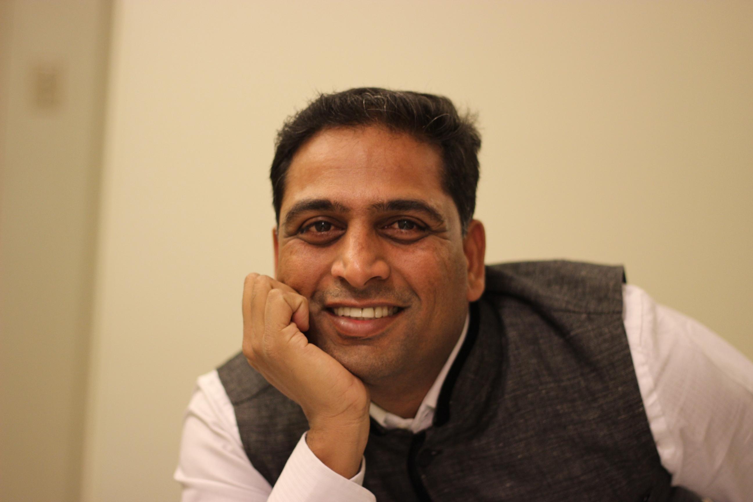 Dr. Kiran A. Shinde Founder-Director, Pune Biennale