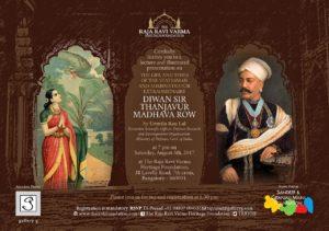 Diwan Sir Tanjavur Madhava Row by Urmila Rau Lal