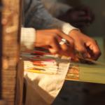 Textile designers Swati & Sunaina